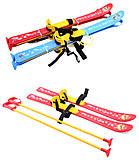 Детские лыжи с палками, 3350