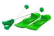 Лыжи «Big foot», зеленые , , магазин игрушек