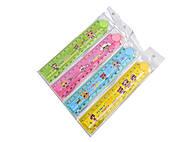 """Набор пластиковых линеек 30 см, 4 штуки в упаковке, складные, в ассортименте """"Лол"""" , 8915, детские игрушки"""