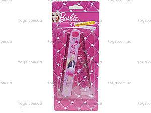 Розовая раскладная линейка с трафаретом для девочек, BRAB-US1-201-BL1, купить