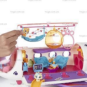 Игровой набор Литл Пет Шоп «Самолет для зверюшек», B1242, детские игрушки