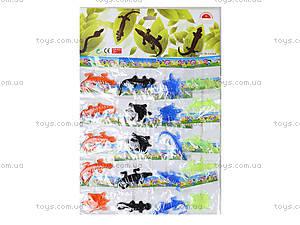 Игрушка лизун «Черепаха и ящерица», 20 штук, PR625, отзывы