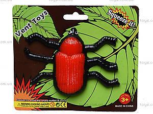 Большой детский лизун в форме насекомого, PR670, фото