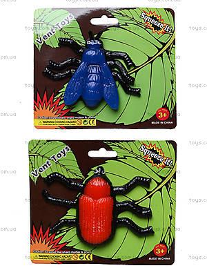 Большой детский лизун в форме насекомого, PR670
