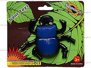 Большой детский лизун в форме насекомого, PR670, отзывы