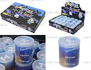 Лизун - сопли в бочке, цвет синий перламутровый, PR652