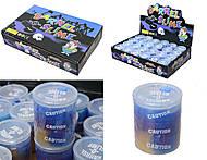 Лизун - сопли в бочке, цвет синий перламутровый, PR652, отзывы