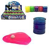 Лизун в банке «Глаз», маленький, PR598, игрушки