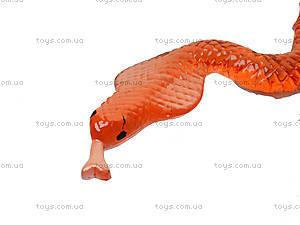 Лизун «Большая змея» в блоке, PR501, toys