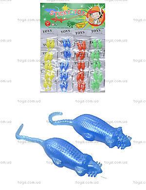 Цветной лизун «Пара мышек», перламутровый, PR363