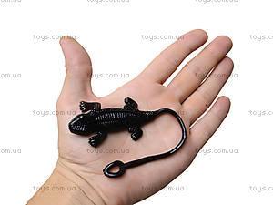 Игрушка-лизун «Черная ящерица», PR613, отзывы