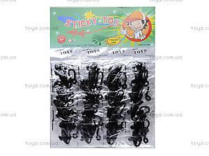 Игрушка-лизун «Черная ящерица», PR613, цена
