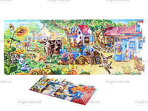 Мягкие пазлы «Наш мир: наш дворик», 4813, фото