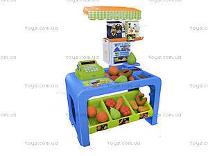 Игровой магазин с кассой и продуктами, 8728, игрушки