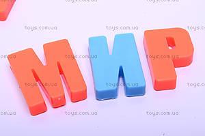 Детская магнитная азбука, 0187A, фото