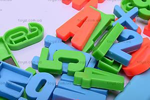 Детская магнитная азбука, 0187A, игрушки