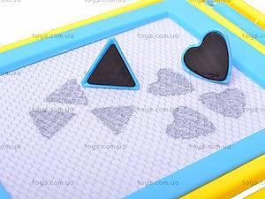Магнитная детская доска для рисования , 0805-2, фото