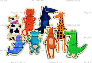 Магнитная игра «Сумасшедшие животные», DJ03111, купить