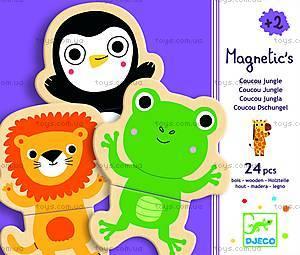 Магнитная игра «Забавные животные», DJ03118
