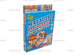 Магнитные пазлы «Домашние любимцы», VT3205-03, фото