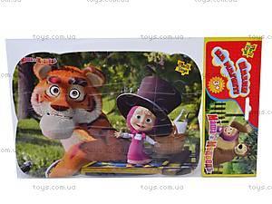 Магнитные пазлы «Маша и тигр», VT3205-15, фото
