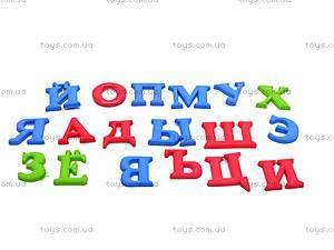 Магнитный резиновый набор «Алфавит», D33, фото