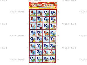 Магнитная азбука для детей English, 4204, фото