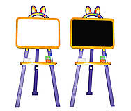 Магнитная доска для рисования оранжево-фиолетовый, 0137775, купити
