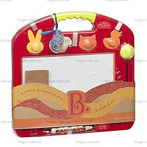 Магнитная доска для рисования «Рафаэль», со штампами, BX1294Z, игрушки