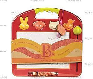 Магнитная доска для рисования «Рафаэль», со штампами, BX1294Z, детские игрушки
