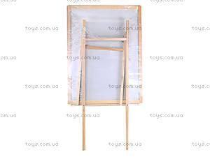 Магнитная доска-мольберт двухсторонняя, ГМ6080110, отзывы