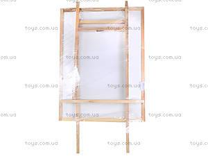 Магнитная двухсторонняя доска-мольберт «Гигант», ГМ4060110, фото