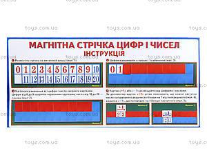 Магнитная лента «Цифры и числа», 156116107069У, цена