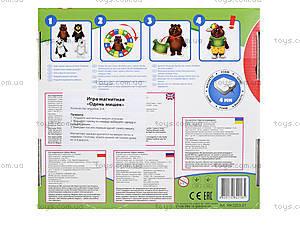 Магнитная игра «Одеть Мишку», RK3203-01, цена