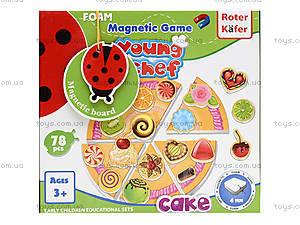 Магнитная игра «Пирог», RK3202-02, игрушки