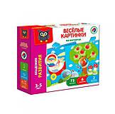 Магнитная игра «Веселые картинки» русский язык, VT5422-02, отзывы