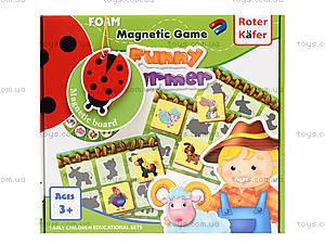 Магнитная игра «Весёлый фермер», RK3203-02, игрушки