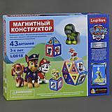 Магнитная игрушка из 43 деталей, LQ618, игрушка