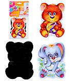 Магнитные беби-пазлы «Лесные жители», VT3208-03, игрушка
