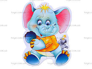 Магнитные беби-пазлы «Зоопарк», VT3208-01, фото