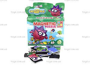 Магнитные детские фигурные пазлы Смешарики, VT1504-28, фото