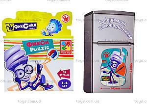 Фигурные магнитные пазлы «Фиксики», VT1504-27, детские игрушки
