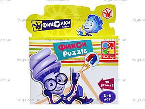 Фигурные магнитные пазлы «Фиксики», VT1504-27, toys.com.ua