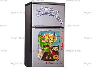 Магнитные фигурные пазлы «Фиксики», VT1504-24...27, магазин игрушек