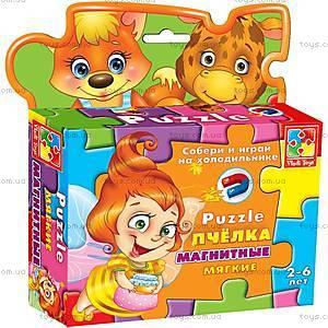 Магнитные фигурные пазлы «Пчелка», VT1504-14, игрушки