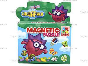Магнитные фигурные пазлы Смешарики детские, VT1504-29, фото