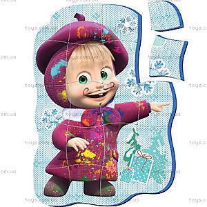 Магнитные фигурные пазлы «Маша», VT1504-15..18, детские игрушки