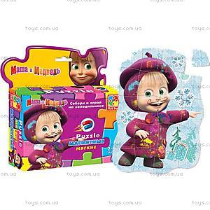 Магнитные фигурные пазлы «Маша», VT1504-15..18, toys.com.ua