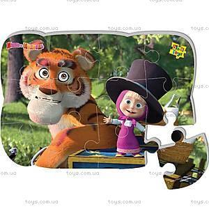Магнитные пазлы «Маша и тигр», VT3205-15, игрушки