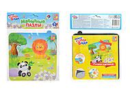 Магнитные пазлы «Зоопарк», 16 элементов, VT3204-12, игрушки